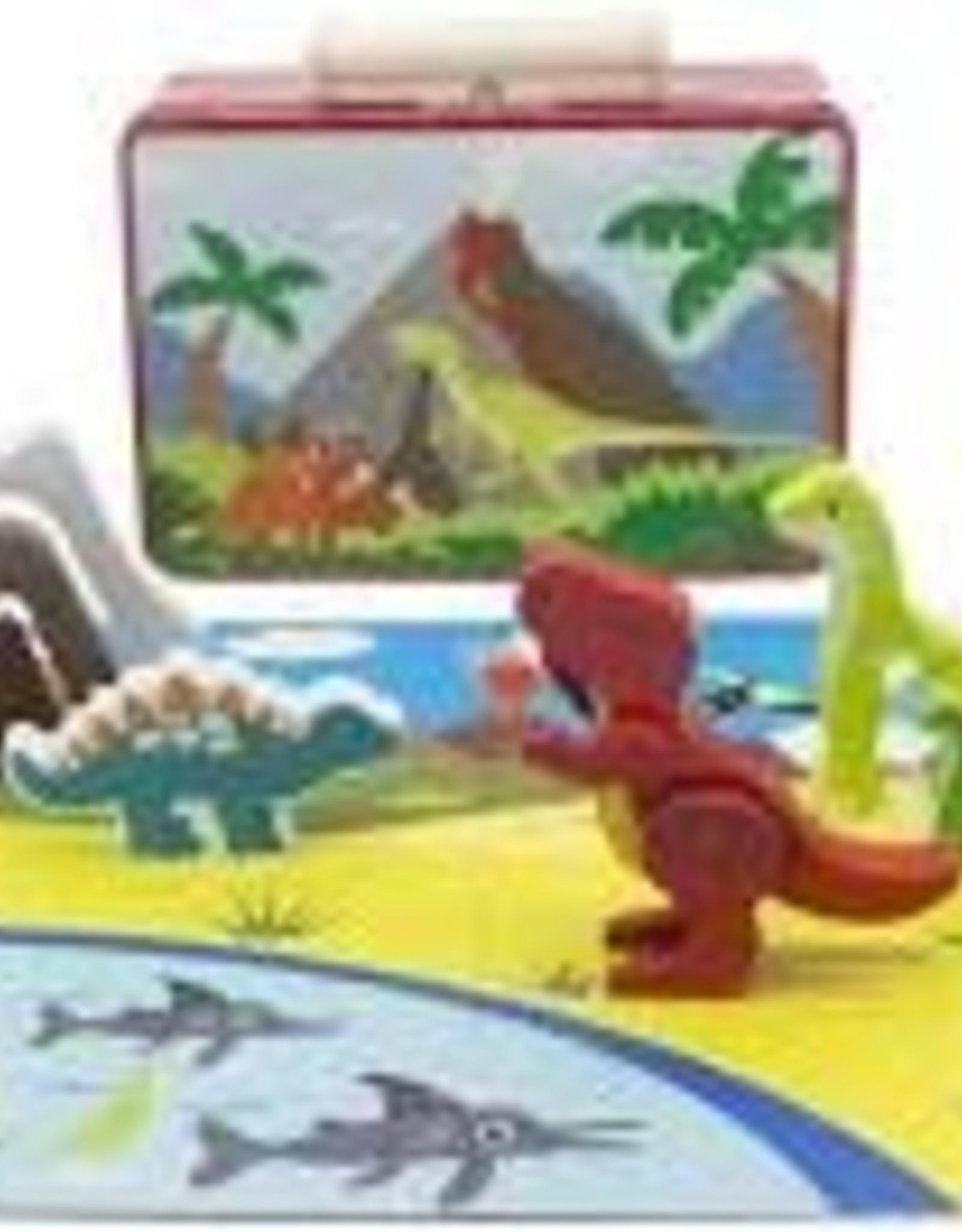 Toyslink Wooden Dinosaur Playset in Tin