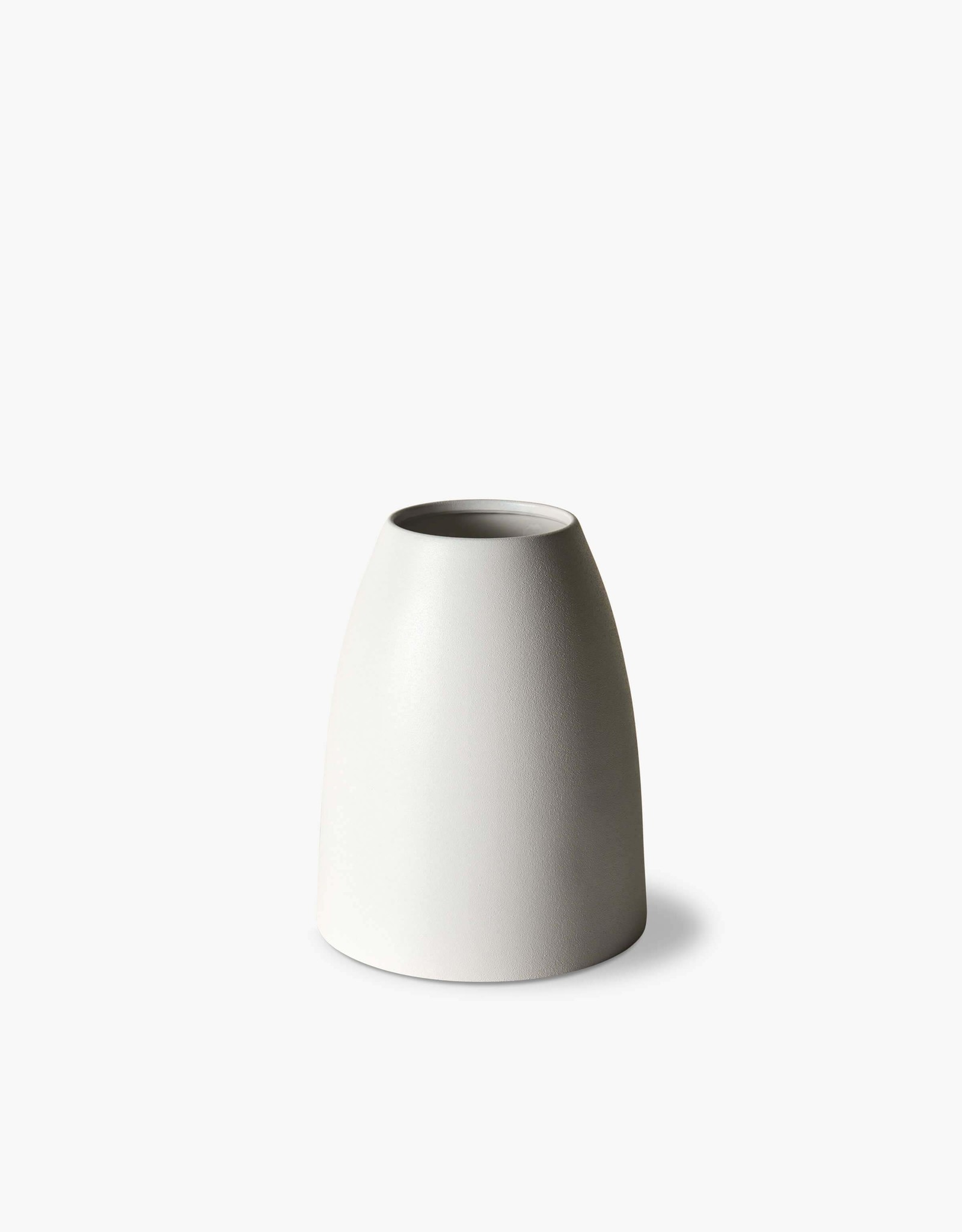 Linen and Moore Mona Cone Vase - Umber
