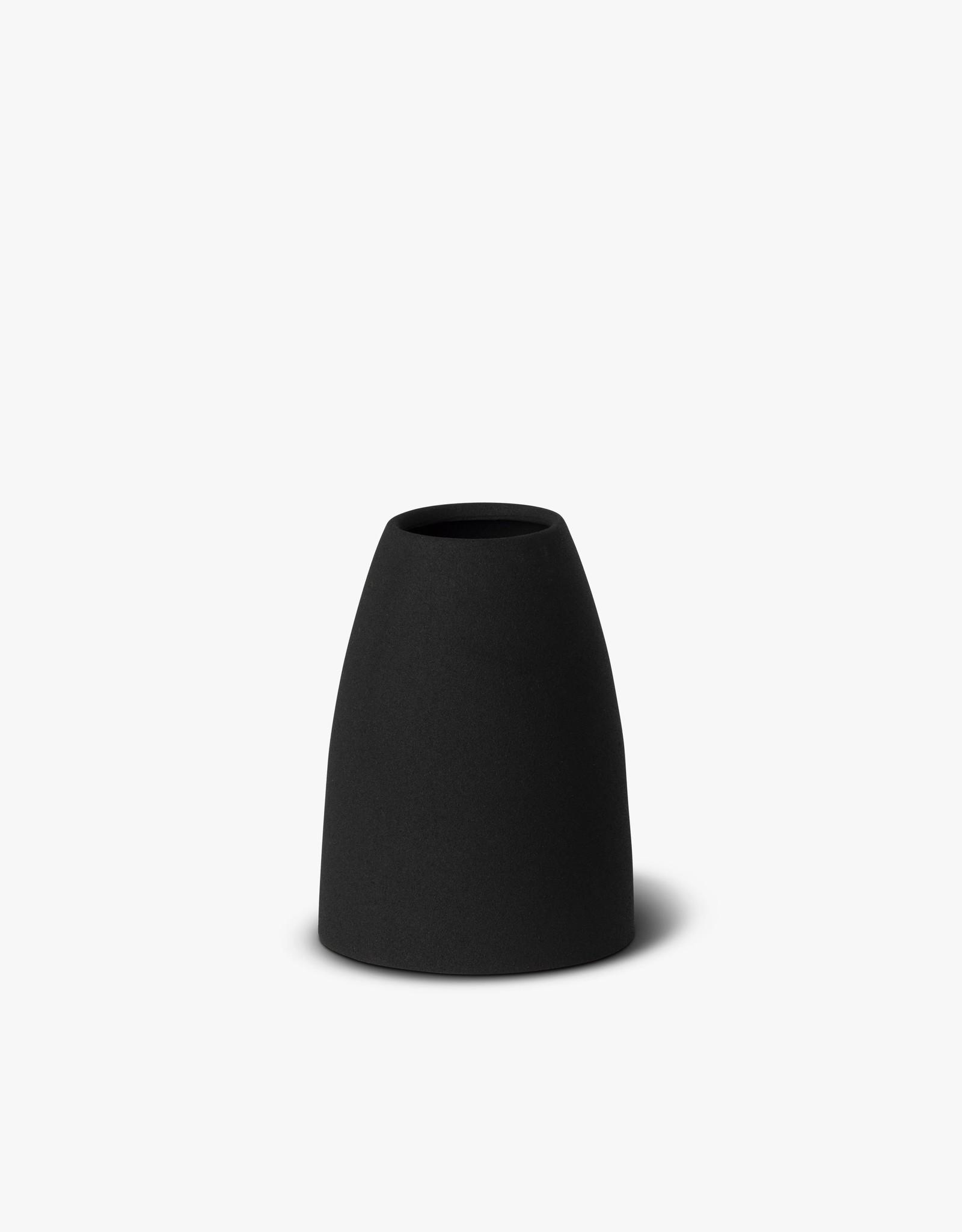 Mona Cone Vase - Black