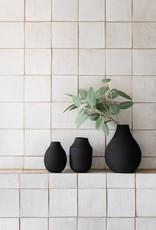 Mona trio vases - Black