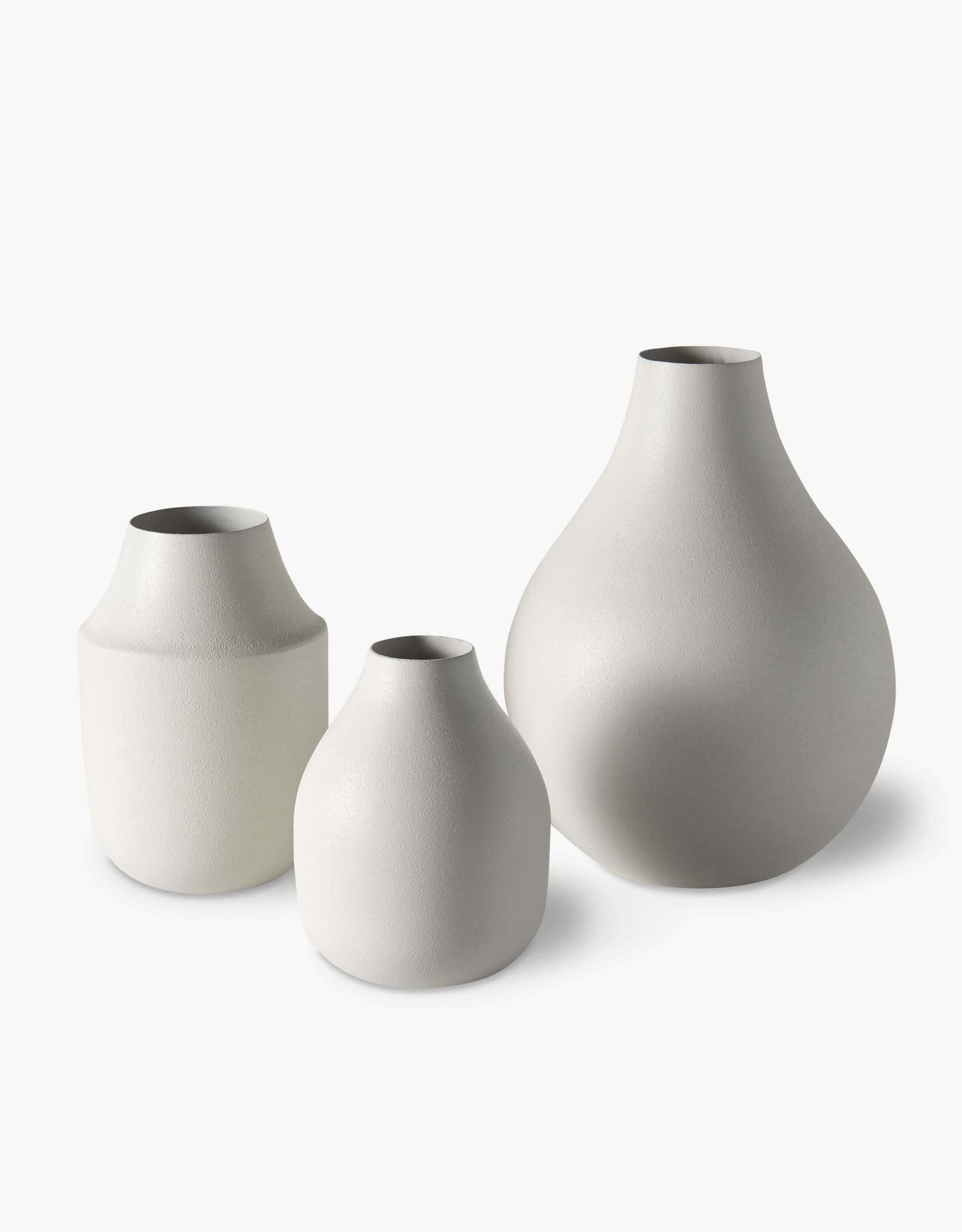Mona trio vases - Chalk