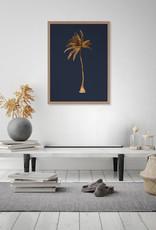 Urban Art Golden Palm Framed Poster