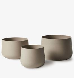 Linen and Moore Mona Pot Trio Latte
