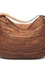 Avalon Large Weave Cognac