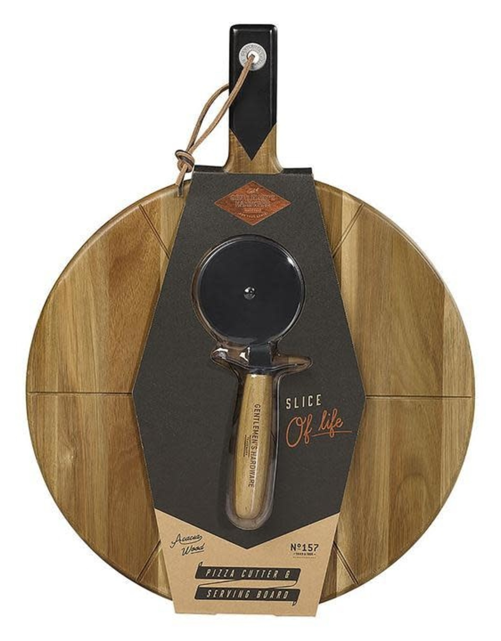 Gentlemen's Hardware Pizza Cutter & Serving Board