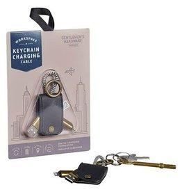 Gentlemen's Hardware Keychain Charging Cable