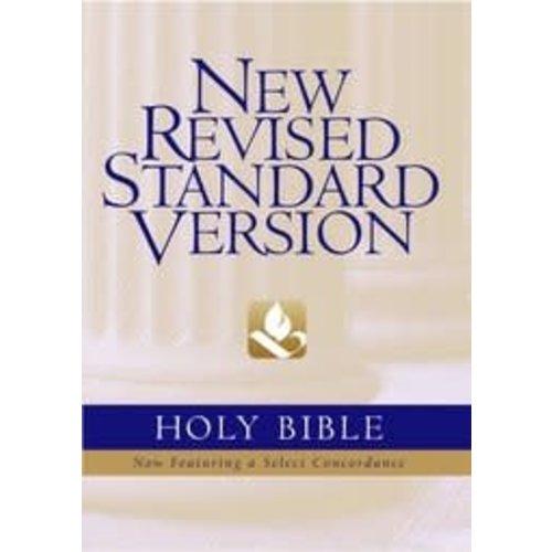 NEW REVISED STANDARD VERSION (NRSV) - GENUINE BLACK LEATHER BIBLE