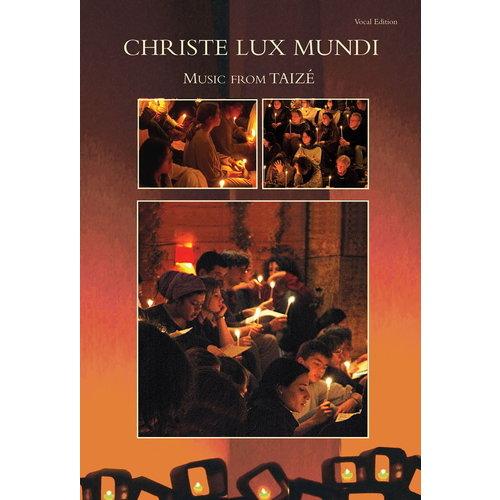 TAIZE CHRISTE LUX MUNDI/CD  TAIZE