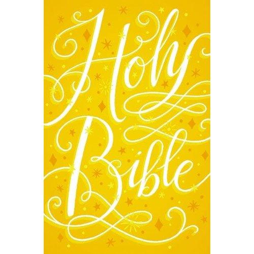 GIRL'S HOLY BIBLE, GOLDEN SPARKLE, INTERNATIONAL CHILDREN'S BIBLE (ICB) TRANSLATION