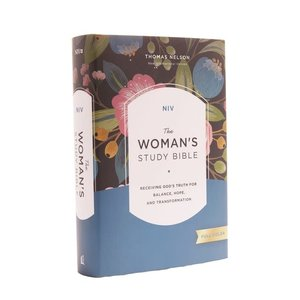 NEW INTERNATIONAL VERSION WOMAN'S STUDY BIBLE (NIV) HARDCOVER