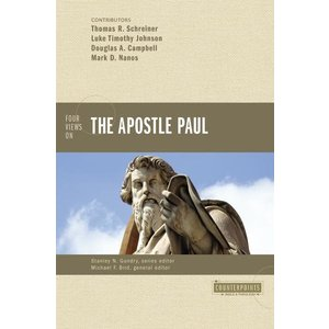 GUNDRY, STANLEY FOUR VIEWS ON THE APOSTLE PAUL: COUNTERPOINTS (BIBLE AND THEOLOGY) by STANLEY GUNDRY