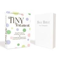 TINY TESTAMENT NIV WHITE