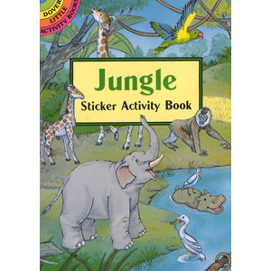 JUNGLE STICKER BOOK