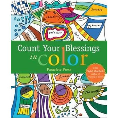 MACBETH, SYBIL COUNT YOUR BLESSINGS IN COLOR by SYBIL MACBETH