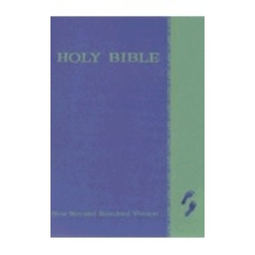 BIBLE/NEW REVISED STANDARD VERSION (NRSV) - THE CHILDREN'S BIBLE - HARDCOVER/ BLUE