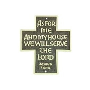 """AS FOR ME AND MY HOUSE"" DOOR SIGN"
