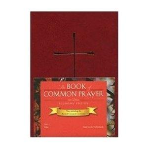 BOOK OF COMMON PRAYER, HARDCOVER, WINE