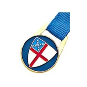 BOOKMARK RIBBON WITH EPISCOPAL SHIELD