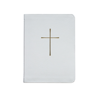 BOOK OF COMMON PRAYER, DELUXE PERSONAL EDITION, BONDED, WHITE