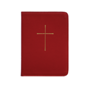 BOOK OF COMMON PRAYER, DELUXE,RED