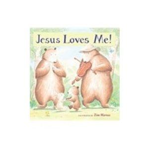 WARNES, TIM JESUS LOVES ME - BOARD  by TIM WARNES