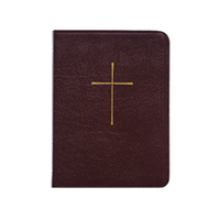 BOOK OF COMMON PRAYER, DELUXE PERSONAL EDITION, BONDED, BURGUNDY