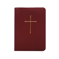 BOOK OF COMMON PRAYER, ECONOMY EDITION, BURGUNDY