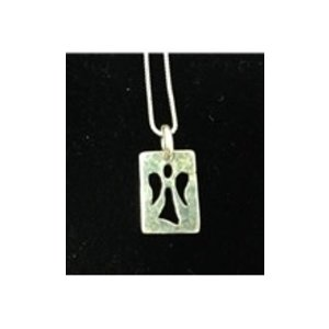 GUARDIAN ANGEL NECKLACE - STERLING SILVER