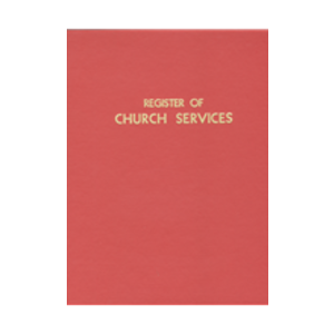 REGISTER OF CHURCH SERVICES