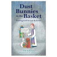 DUST BUNNIES IN THE BASKET