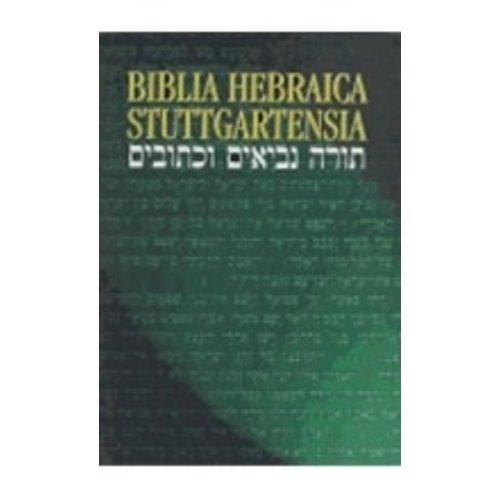 BIBLIA HEBRAICA STUTTGARTENSIA COMPACT EDITION