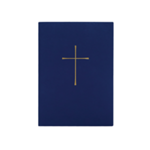BOOK OF COMMON PRAYER PAPERBACK BLUE, STUDY EDITION