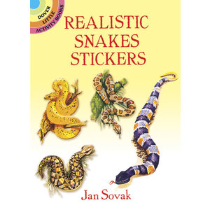 REALISTIC SNAKES STICKERS