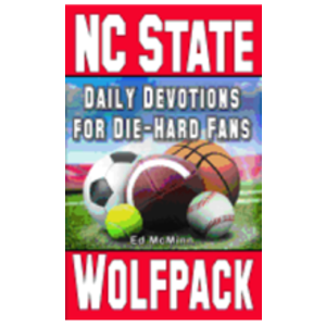 MCMINN, ED DAILY DEVOTIONS FOR DIE-HARD FANS: N.C. STATE WOLFPACK  by ED MCMINN