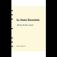 SANTA EUCARISTIA ALTAR EDITION INSERT