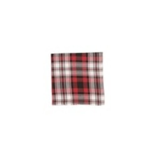 NAPKIN PLAID FIRESIDE