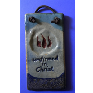 """""""CONFIRMED IN CHRIST"""" WALL PLAQUE"""