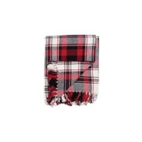 PLAID THROW - FIRESIDE DESIGN