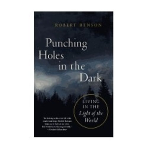 BENSON, ROBERT PUNCHING HOLES IN THE DARK
