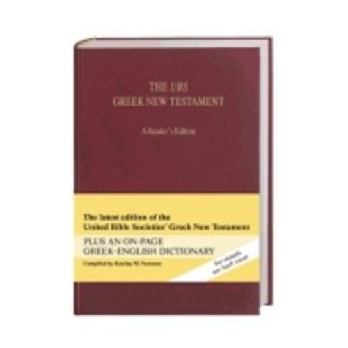 THE UBS GREEK NEW TESTAMENT - READERS EDITION - BURGUNDY CLOTH