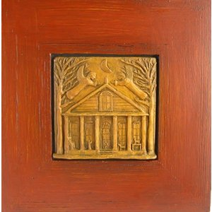 HOUSE BLESSING / WARMING SCULPTED PLAQUE FRAMED
