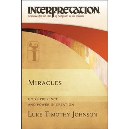 JOHNSON, LUKE TIMOTHY MIRACLES