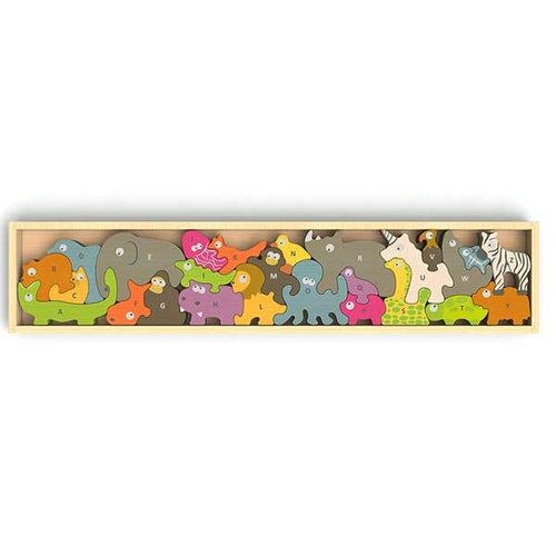 BeginAgain ANIMAL PARADE A TO Z PUZZLE & PLAYSET