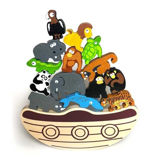 BeginAgain BALANCE BOAT ENDANGERED ANIMALS