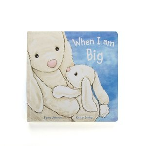 WHEN I AM BIG BOARD BOOK by JELLYCAT