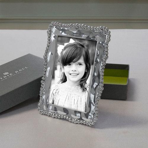 Beatriz Ball FRAME ORGANIC PEARL SILVER 4X6