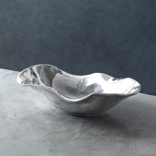 Beatriz Ball OVAL BOWL SILVER VENTO