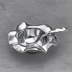 Beatriz Ball PETIT BOWL WITH SPOON Silver Vento