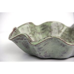 PRODIGAL POTTERY BLOSSOM BOWL SEA SPRAY SQ635422