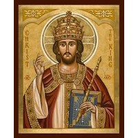 ICON CHRIST THE KING SMALL 4X5